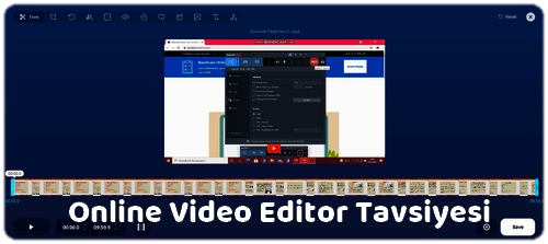 Muhteşem Bir Online Video Editleme Platformu
